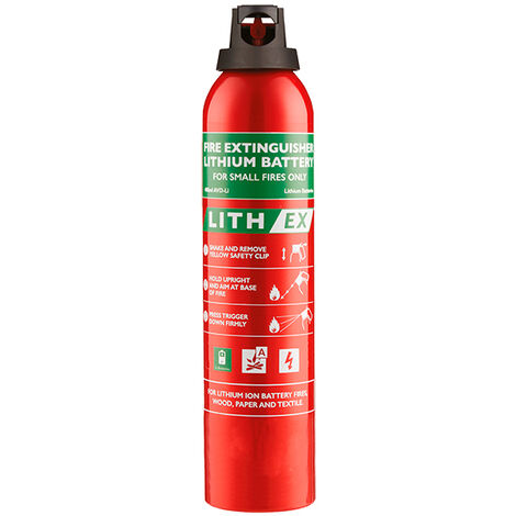 FireChief - Extincteur Lithium 0.5L FLE500