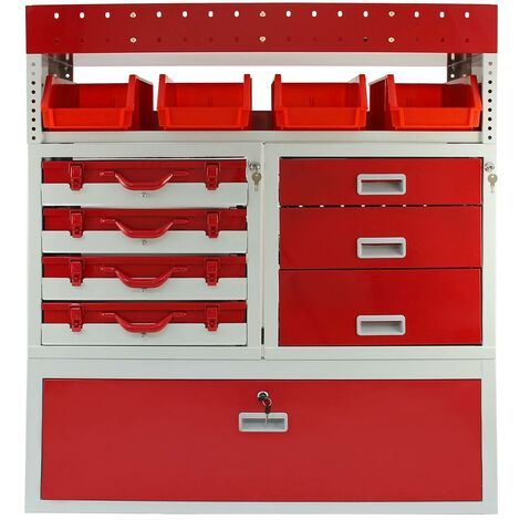 Firecracker Metal Van Racking