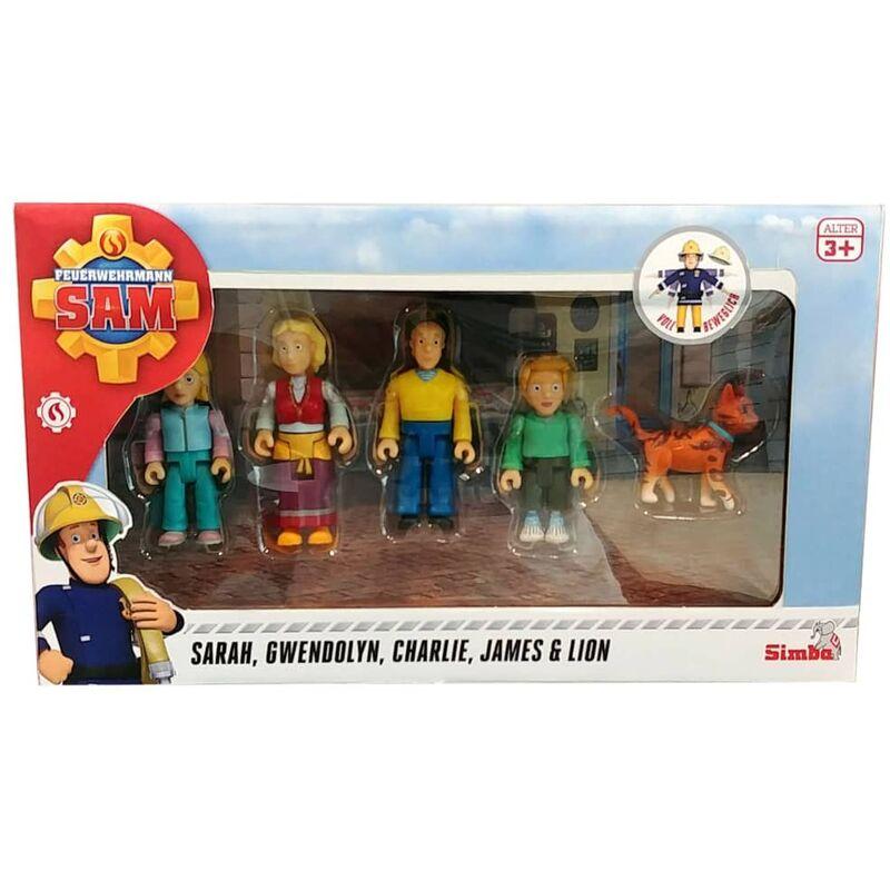 Image of Toy Figure Set Jones Family - Fireman Sam