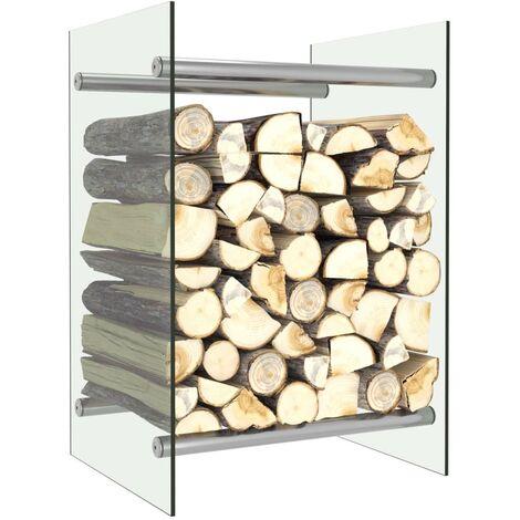 "main image of ""Firewood Rack Transparent 40x35x60 cm Glass"""