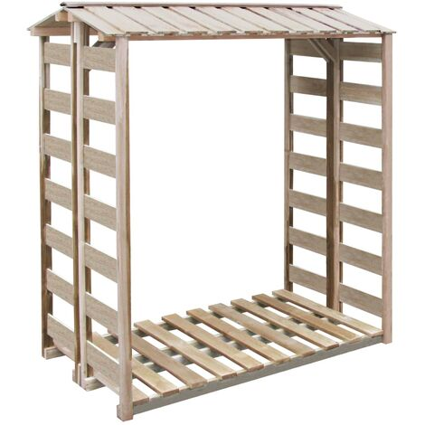 Firewood Storage Shed 150x100x176 cm Impregnated Pinewood