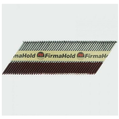 Firmahold CBRT63G FirmaHold Nails and Gas Ringed Shank Bright 2.8 x 63/3CFC Box of 3,300
