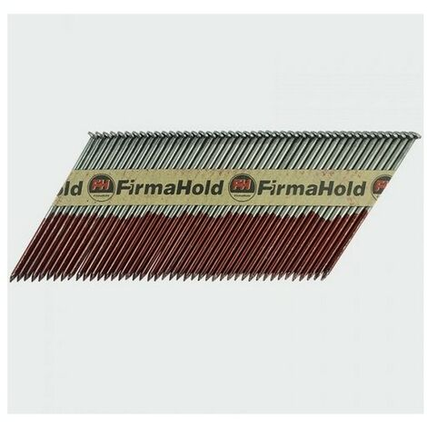 Firmahold CBRT90G FirmaHold Nails and Gas Plain Shank Bright 3.1 x 90/2CFC Box of 2,200