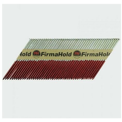 Firmahold CFGR90G FirmaHold Nails and Gas Plain Shank FirmaGalv 3.1 x 90/1CFC Box of 1,100