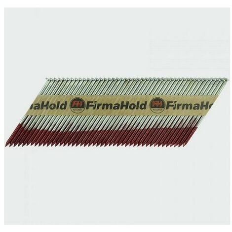 Firmahold CFGT90G FirmaHold Nails and Gas Plain Shank FirmaGalv 3.1 x 90/2CFC Box of 2,200