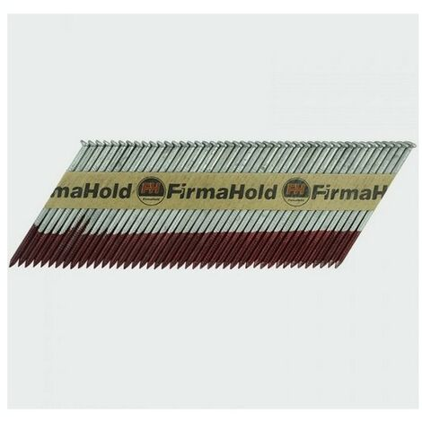 Firmahold CHDT50G FirmaHold Nails and Gas Ringed Shank Hot Dipped Galv 2.8 x 50/3CFC Box of 3,300