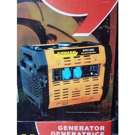 Firman SPS1200 Silent Stromerzeuger leise Generator inkl. Brennenstuhl Adapter