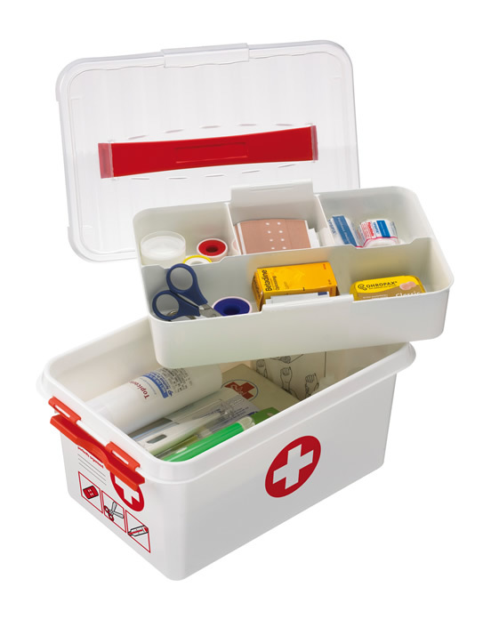 Image of First Aid Storage Box - 6 Ltr