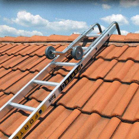 Firstbügel für Dachleiter mit Sprossenabstand 21;5 bis 28cm (nicht für runde Sprossen)
