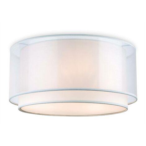 Firstlight Chicago - 3 Light Flush Light Cream, E27
