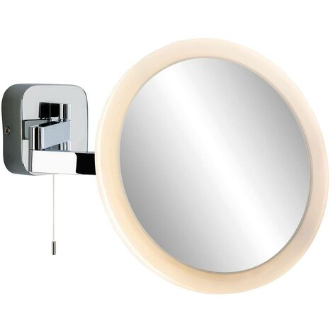 Firstlight Magnifying - LED Bathroom Indoor Wall Light Mirror (Switched) Chrome IP44
