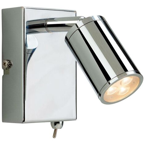 """main image of """"Firstlight Orion - LED 3 Light Indoor Wall Spotlight (Switched) Chrome"""""""