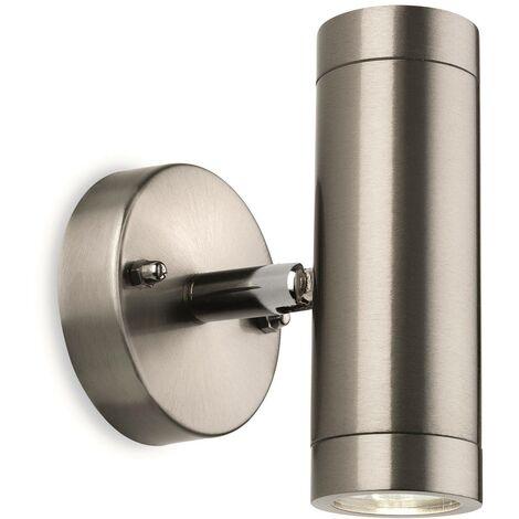 Firstlight Sprint - LED 1 Light Outdoor Wall Light Stainless Steel IP44