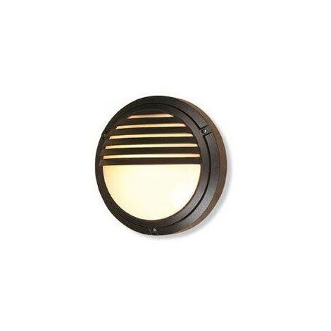 Firstlight Verona - 1 Light Outdoor Wall Light - 100W Black IP54, E27