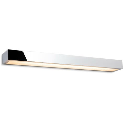 """main image of """"Firstlight Zulu Bathroom Down Light LED Wall Light - 600mm Chrome with Opal Glass Diffuser IP44"""""""