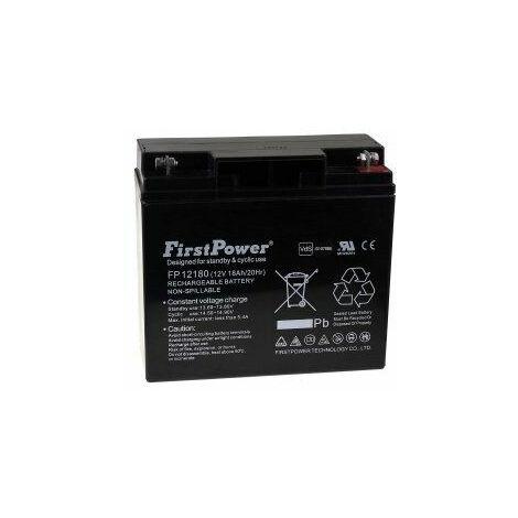 FirstPower Batería de GEL FP12180 12V 18Ah VdS_v925