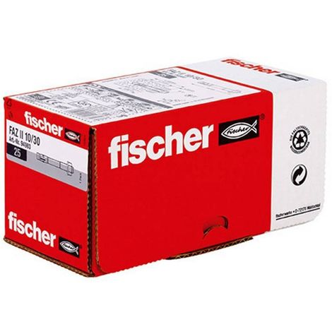 Fischer 094983 Anclaje perno alto rendimiento FAZ II 10/30 (Envase 25 uds)