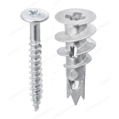 FISCHER 505254 METAL SELF DRILL PLUGS (25)