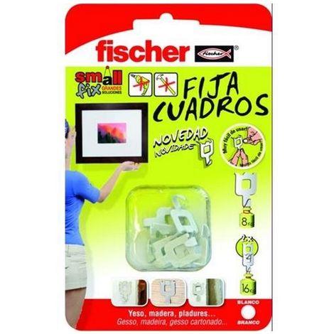 Fischer 522207 Expositor pared fijacuadros blanco