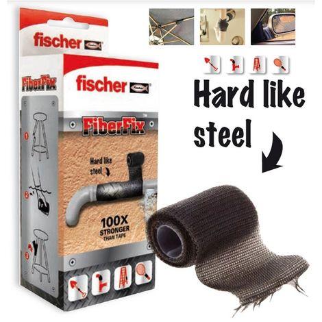 Fischer 533222 Cinta reparadora FIBERFIX 5X130 CM
