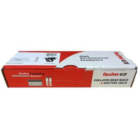 FISCHER 538593 38MM STRAIGHT BRADS GALV(2000)