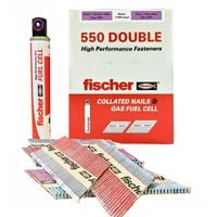 FISCHER 540484 550 DOUBLE NAIL PACK 90/75