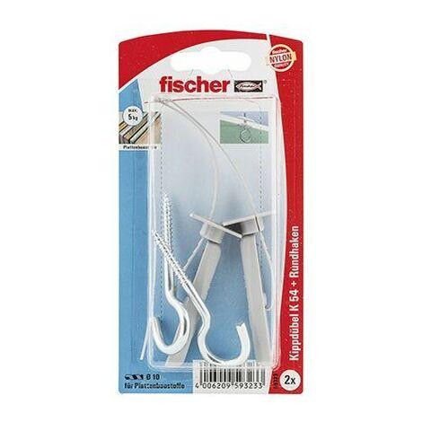 Fischer Chevilles à bascule K 54 K SB-carte - 1 pièce - 059323
