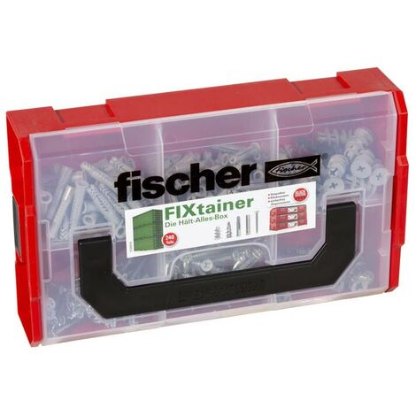 Fischer Chevilles SX-UX R-GK-GKM avec boîte de rangement FIXtainer