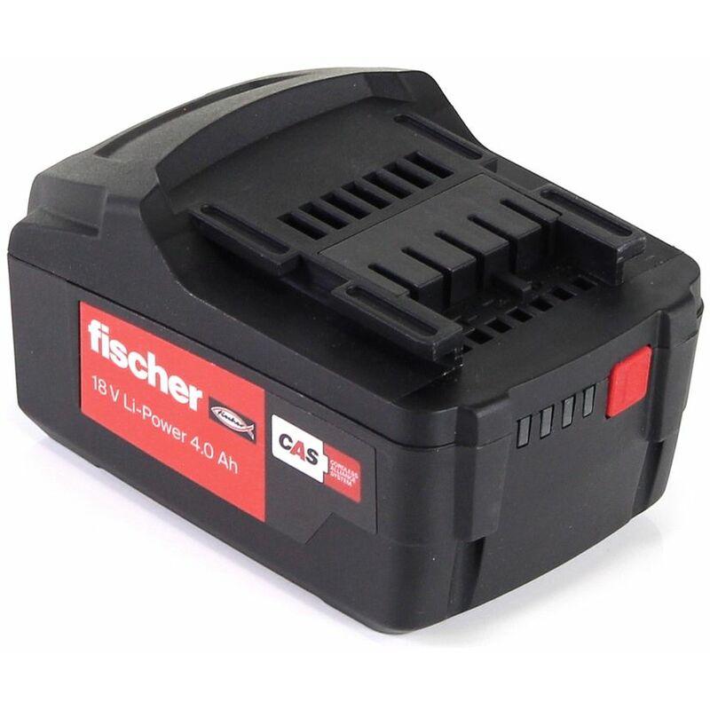 Fischer FSS-B Batterie Li-Ion 18V 4.0 Ah - CAS Partner ( 552930 )