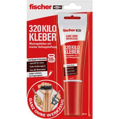 fischer GOW 320 Kilo Kleber, Tube 80ml, weiß