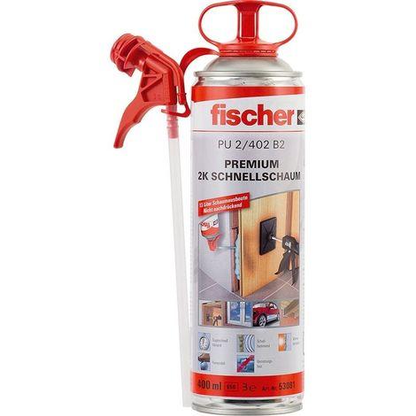 Fischer Mousse bicomposant rapide PU 2/402 - 053081