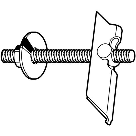 FISCHER Toggle plug Steel Zinc plated