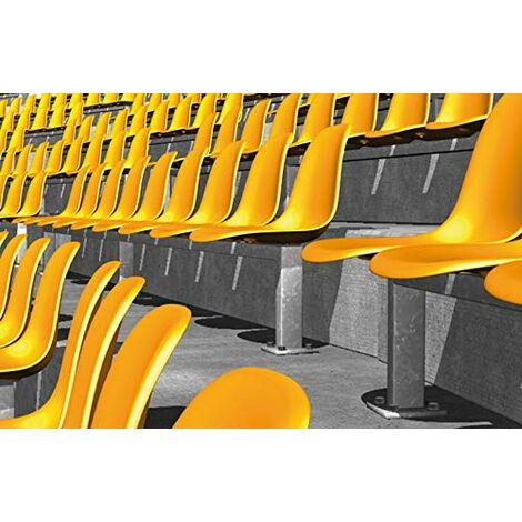 Fischer ULTRACUT FBS II Lot de 50 vis de béton A4 8 x 90 25/-SK pour fixer des rampes, profilés métalliques, étagères en béton, en extérieur - 50 pièces - 543581 - Gris