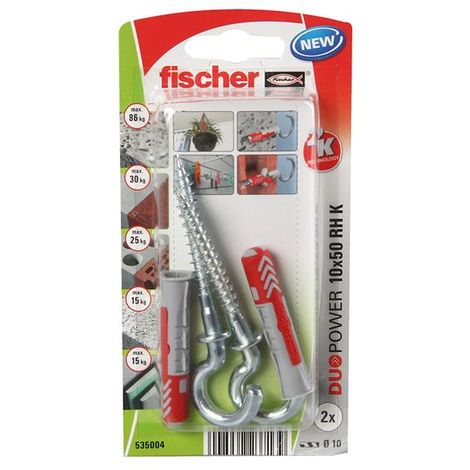 Fischer Universal Ankles Duopower 10X50 (2 Pcs)