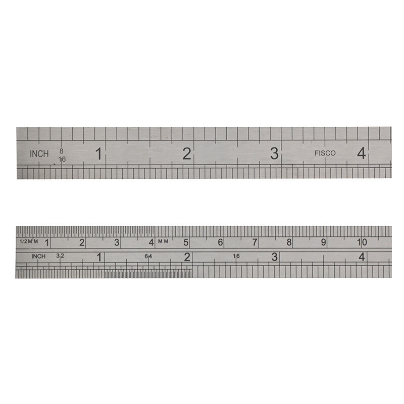 Image of Fisco FSC706S 706S Stainless Steel Rule 150mm / 6in