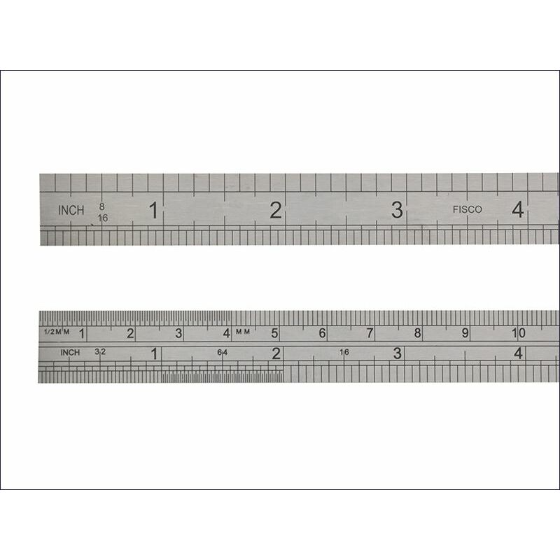 Image of Fisco - 725S Stainless Steel Rule 600mm / 24in (FSC725S)