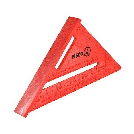 Fisco X55E-CW Red Plastic Rafter Angle Square 175mm