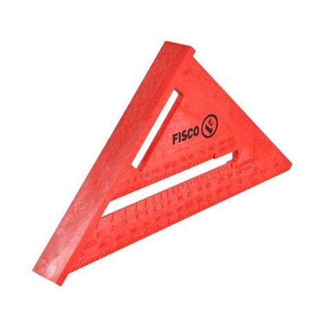 Fisco X55E Yellow Plastic Rafter Angle Square