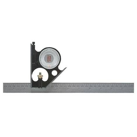 """Fisher FB295ME Combination Square 12"""" 300mm Plus Angle Finder"""