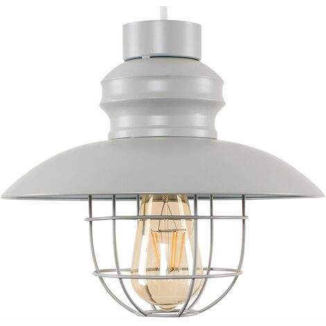 "main image of ""Fisherman's Metal Ceiling Pendant Light Shade"""