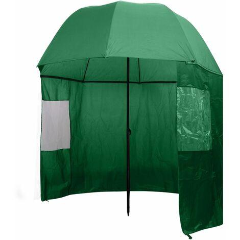 Fishing Umbrella Green 300x240 cm - Green