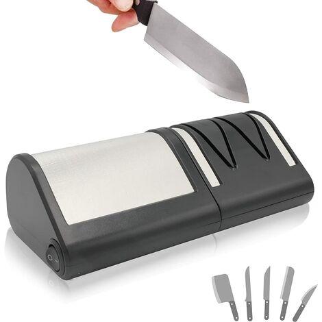 FISHTEC® Aiguiseur Electrique Couteaux Métal ou Céramique -