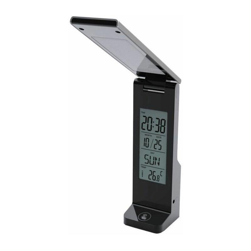 Tactile Bureau Led Secteur Température Lumière Jour Du Fishtec® AlimUsb Avec Lampe HorlogeDate Et 16 Ou R4jAL35q
