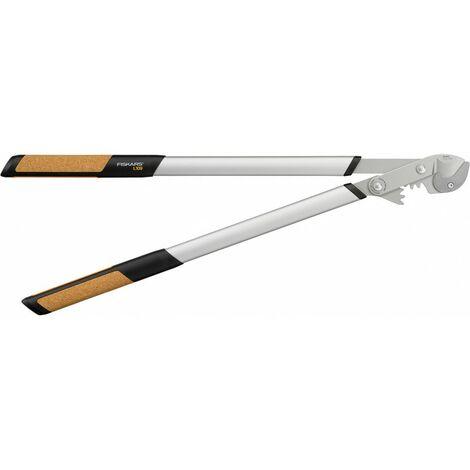 Fiskars 1001437 - Coupe-branches à enclume Quantum pour bois sec et dur - 5,5 cm - Lames en acier trempé avec revêtement antiadhésif - 80 cm