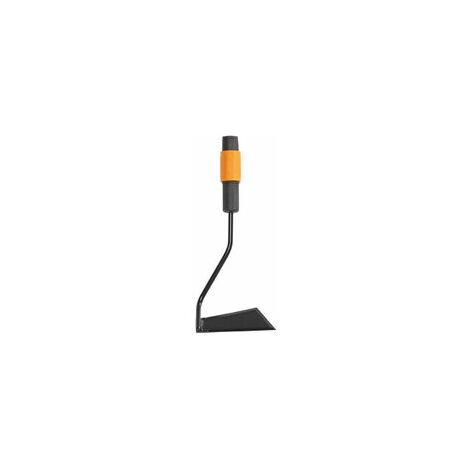Fiskars Azada, Cabezal de herramienta QuikFit, Largo: 13 cm, Acero, Negro/Naranja, QuikFit, 1000682