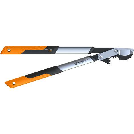 Fiskars Cisaille /à haies t/élescopique SmartFit Rev/êtement antiadh/ésif Longueur: 68-93 cm 1013565 Lames en acier haute qualit/é HS86 Noir//Orange