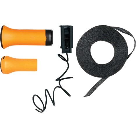 Fiskars Ersatzgriff + Zugband-Set für UPX86, Griff, schwarz/orange