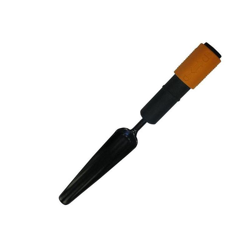 Werkzeugkopf Fiskars Unkrautstecher Breite: 3,5 cm Stahl-Kopf Schwarz//Orange