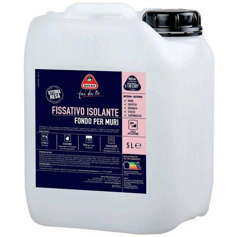 """main image of """"Fissativo Isolante per Muri Fondo Pittura Idropittura Interno Esterno 784 Boero"""""""
