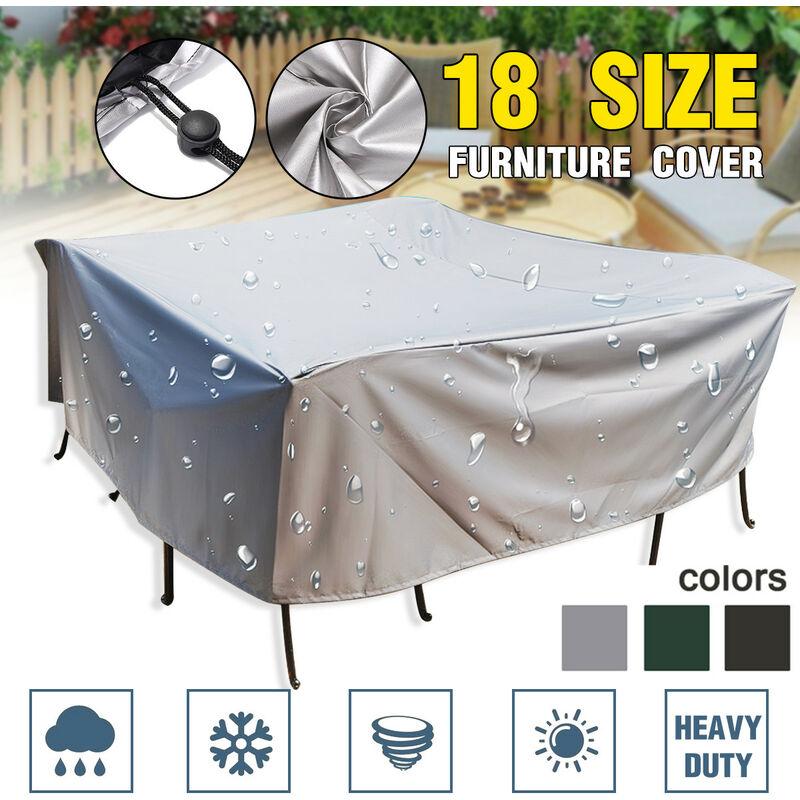 Manta - Fit All Kinds Furniture Multi-Tailles Imperméable Jardin Patio Meubles électroménagers Couvre Extérieur Anti UV Antipoussière Antenne Neige